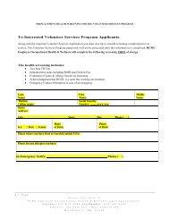 VolunTEEN Preplacement Health Screenings Forms - Hennepin ...