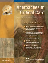 Multiple-System Trauma - Hennepin County Medical Center