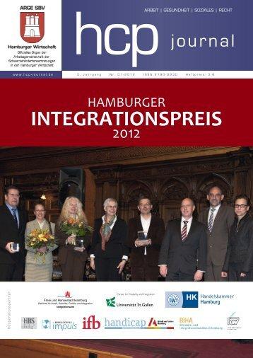 INTEGRATIONSPREIS - Fakultät WiSo - Universität Hamburg