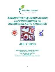 Administrative Regulations and Procedures for Interscholastic Athletics