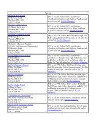 School Directions - Harford County Public Schools