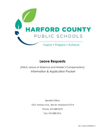 Fmla Healthcare Provider Certification Form Harford County