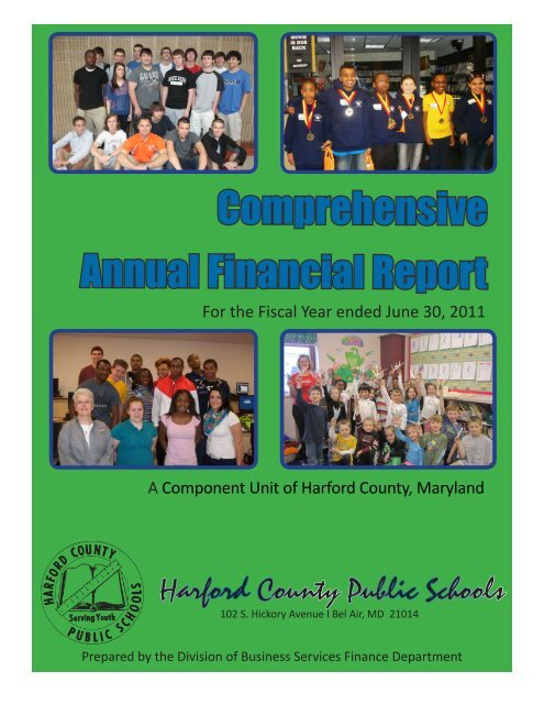 Comprehensive Annual Financial Report - Harford County Public ...