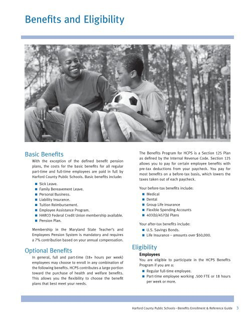 Benefits Enrollment & Reference Guide - Harford County Public ...
