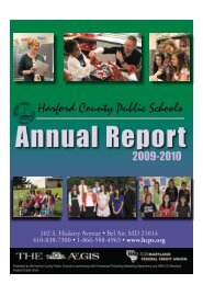 2009-10 Annual Report - Harford County Public Schools