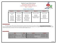 Program Description(s) - Harford County Public Schools