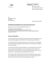 2013-05-08 Protokoll Studienforum