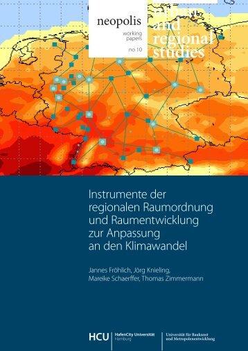 neopolis working paper no 10-1.pdf - HafenCity Universität Hamburg