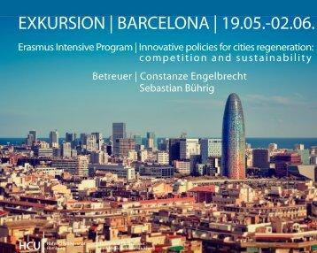 Präsentation Barcelona - HafenCity Universität Hamburg