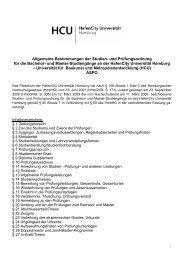 Allgemeine Bestimmungen der Studien- und Prüfungsordnung für ...