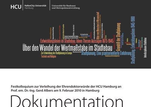 Dokumentation zum Download - HafenCity Universität Hamburg