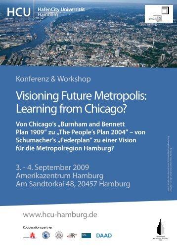 Visioning Future Metropolis - HafenCity Universität Hamburg