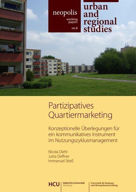 partizipatives Quartiermarketing - HafenCity Universität Hamburg