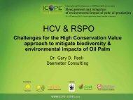 HCV & RSPO Challenges for the High Conservation Value ...