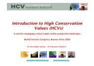 HCVs - HCV Resource Network