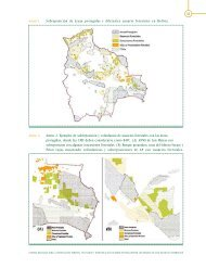 Anexo 1. Sobreposición de áreas protegidas y diferentes usuario ...