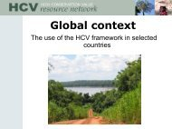 Global context - HCV Resource Network
