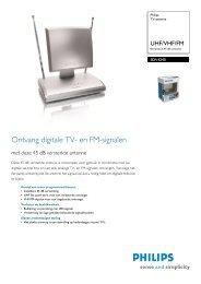 SDV4240/10 Philips TV-antenne