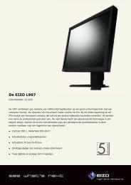 De EIZO L997 - Hardware