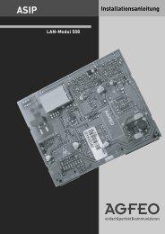 Installationsanleitung - Hardware