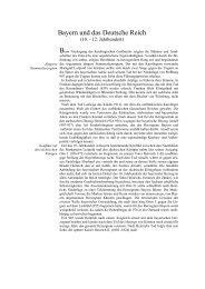 Bayern und das Deutsche Reich - Haus der Bayerischen Geschichte