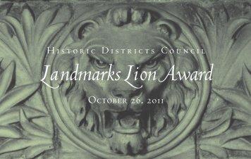 invitation - Historic Districts Council