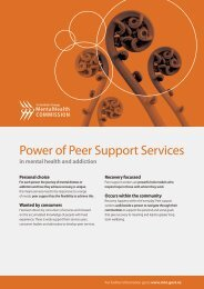 Power of Peer Support Services