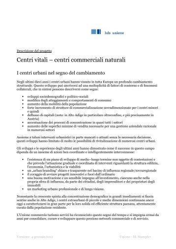 Centri commerciali naturali - Unione commercio turismo servizi Alto ...