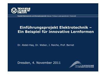 Innovative Lernformen (Präsentation: PDF)