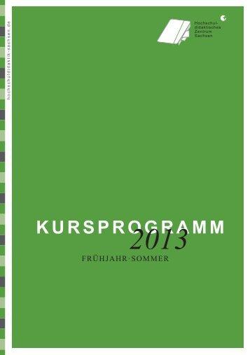 finden Sie das Programmheft 2013 zum Selbstausdrucken