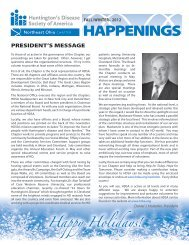 Download our Fall/Winter 2012 Newsletter! - Huntington's Disease ...