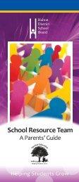 SRT Pamphlet - Halton District School Board