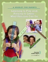 Learning to Play and Playing to Learn: What Families Can Do