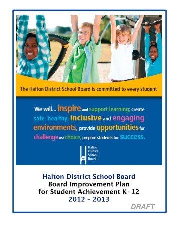 hdsb bipsa 2012-2013 - Halton District School Board