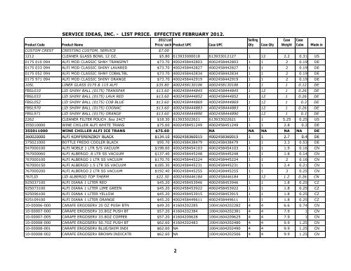 Service Ideas SSA375 Steelvac Carafe 3.75 L Stainless Steel