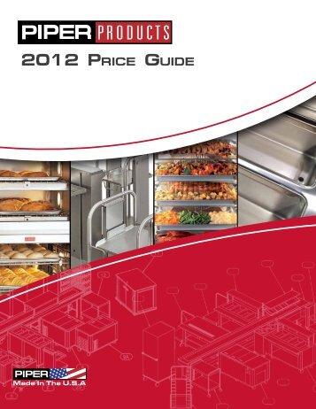 Price List - HD Sheldon and Co.