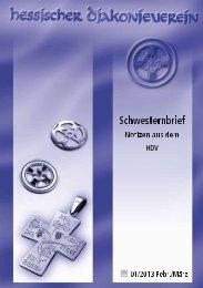 Schwesternbrief Februar-März - Hessischer Diakonieverein e.V.