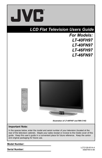 For Models - Home Theater HDTV