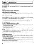 Operating Instructions Digital High Definition Plasma Television TH ... - Page 6