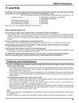 Operating Instructions Digital High Definition Plasma Television TH ... - Page 7