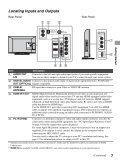 LCD Digital Color TV - Manuals, Specs & Warranty - Sony - Page 7