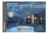 Prospekt Walltherm-Kaminofen