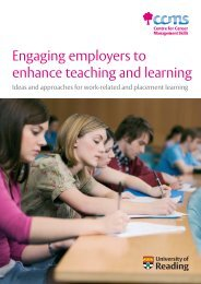Engaging employers to enhance teaching and learning