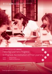 Helping Learners Progress - In Practice - University of Leicester