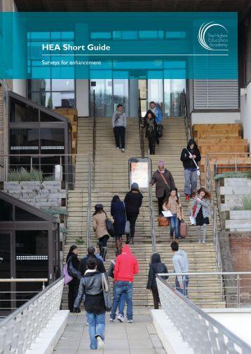 Short Guide - Surveys for Enhancement - Higher Education Academy