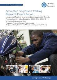 Apprentice Progression Tracking Research Project Report