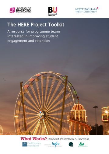 The HERE Project Toolkit - Higher Education Academy