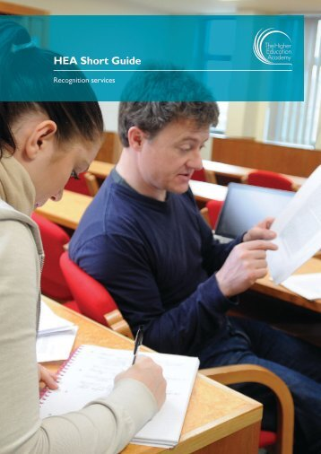 HEA Short Guide - Higher Education Academy