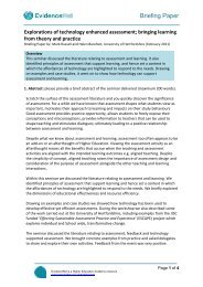10. Briefing Paper Template - Higher Education Academy