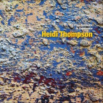 Heidi Thompson Abstract Cover - Headbones Gallery